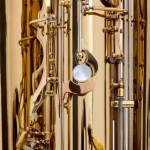 Subkontrabass-Saxophon in B♭ Umfang notiert a0-f#3